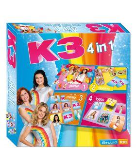 K3 4in1 Spel