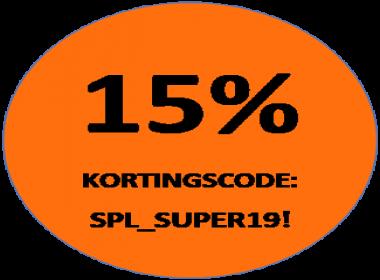 15% korting Speelgoed