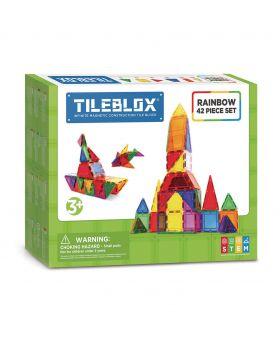 Tileblox Regenboogset, 42dlg.